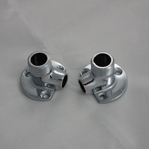 KLUDI Ersatzteil Wandscheibe (1 Paar) 1/2Zoll x 12 mm chrom