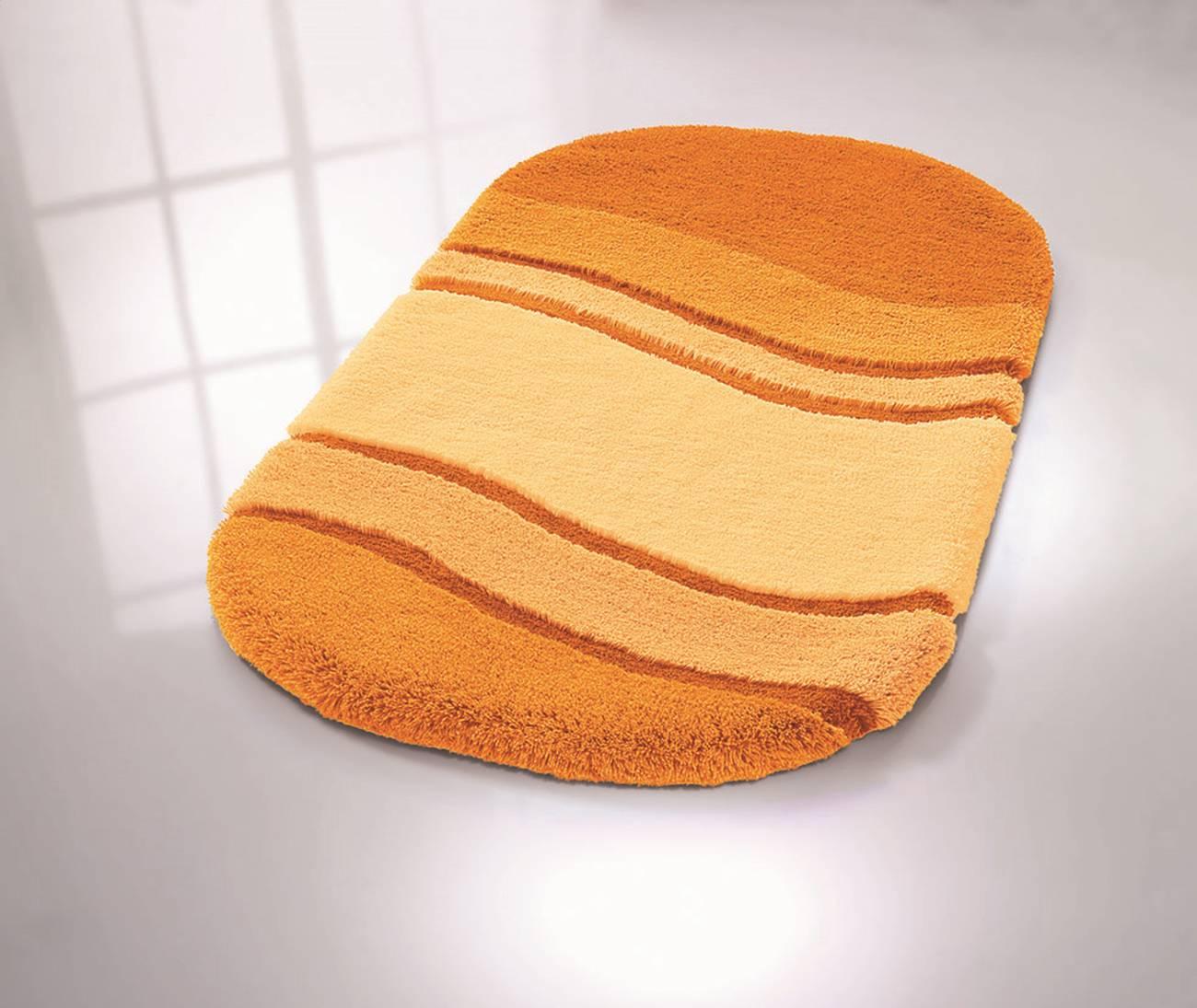 WC-Vorleger Siesta 100 % Polyacryl Sor.-Azurblau 55x 55 cm