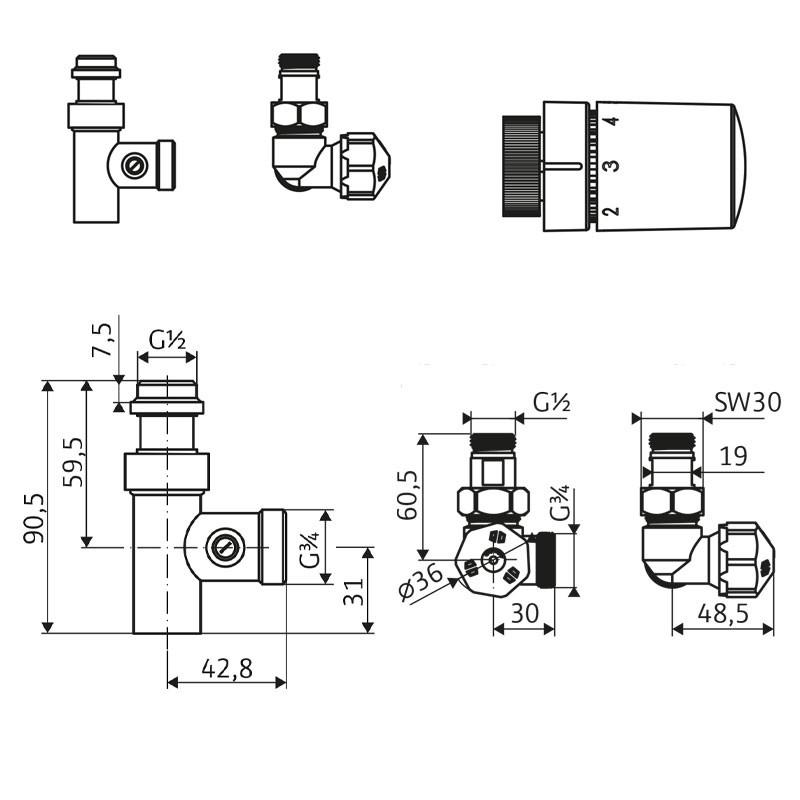 HSK Mischbetrieb Set - Version Links