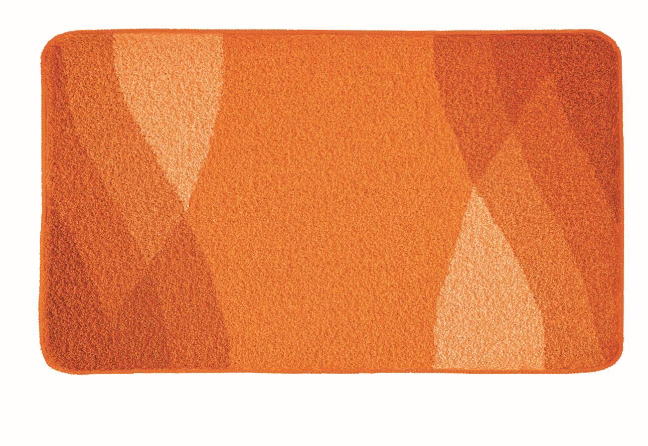 Badteppich Suri 100 % Polyacryl Schiefer 80x140 cm 55x 50 cm Chili