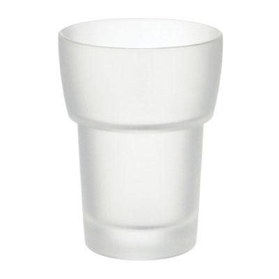 SMEDBO Ersatzglas für Zahnputzbecher, mattglass