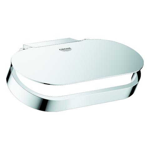 GROHE WC-Papierhalter Selection 41069 mit Deckel chrom
