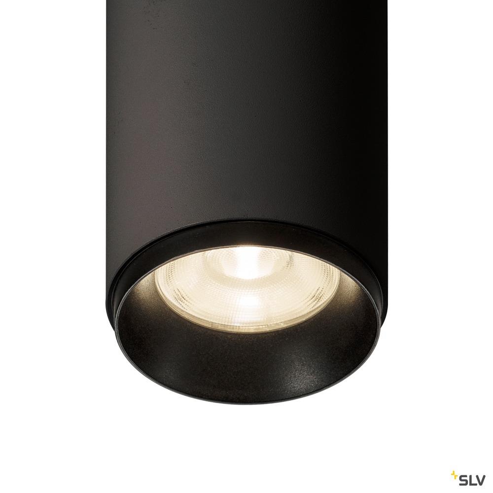 NUMINOS® PD PHASE M, Indoor LED Pendelleuchte schwarz/schwarz 4000K 36°