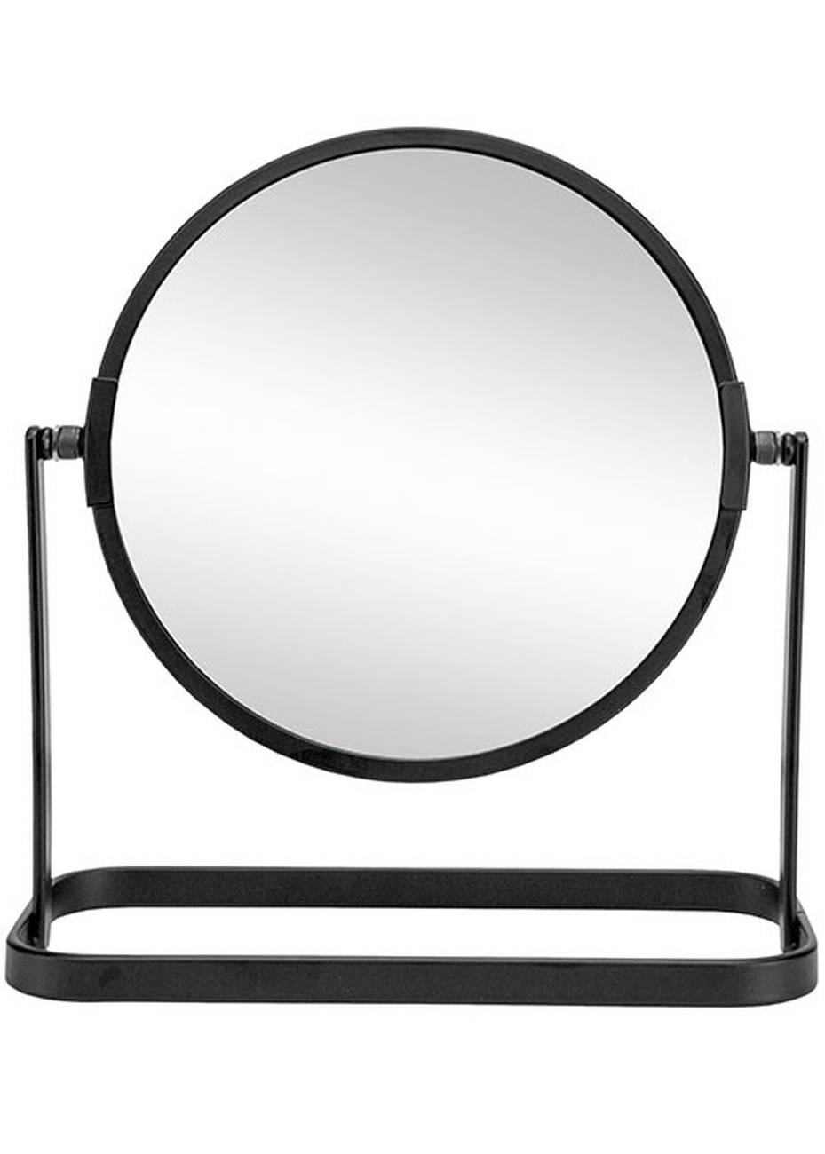 Kosmetikspiegel Framework Mirror Metall/Glas Schwarz Spiegel