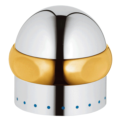 """GROHE Griff 45538 1/2"""" für Sentosa Markierung blau chrom/gold"""