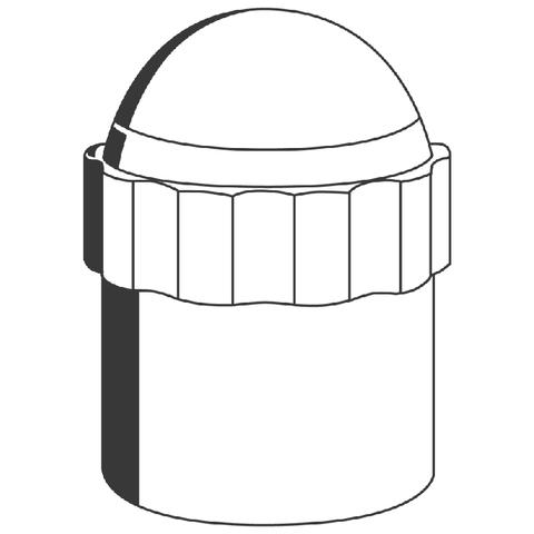 GROHE Absperrgriff 47405 für Eurotrend UP-und Eckventil chrom/silbermetallic
