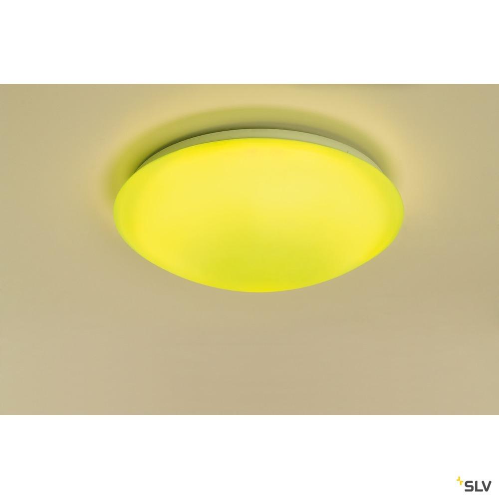 LIPSY 36 S COLOR CONTROL, Wand- und Deckenleuchte, LED, 3000K, weiß, rund, Slave