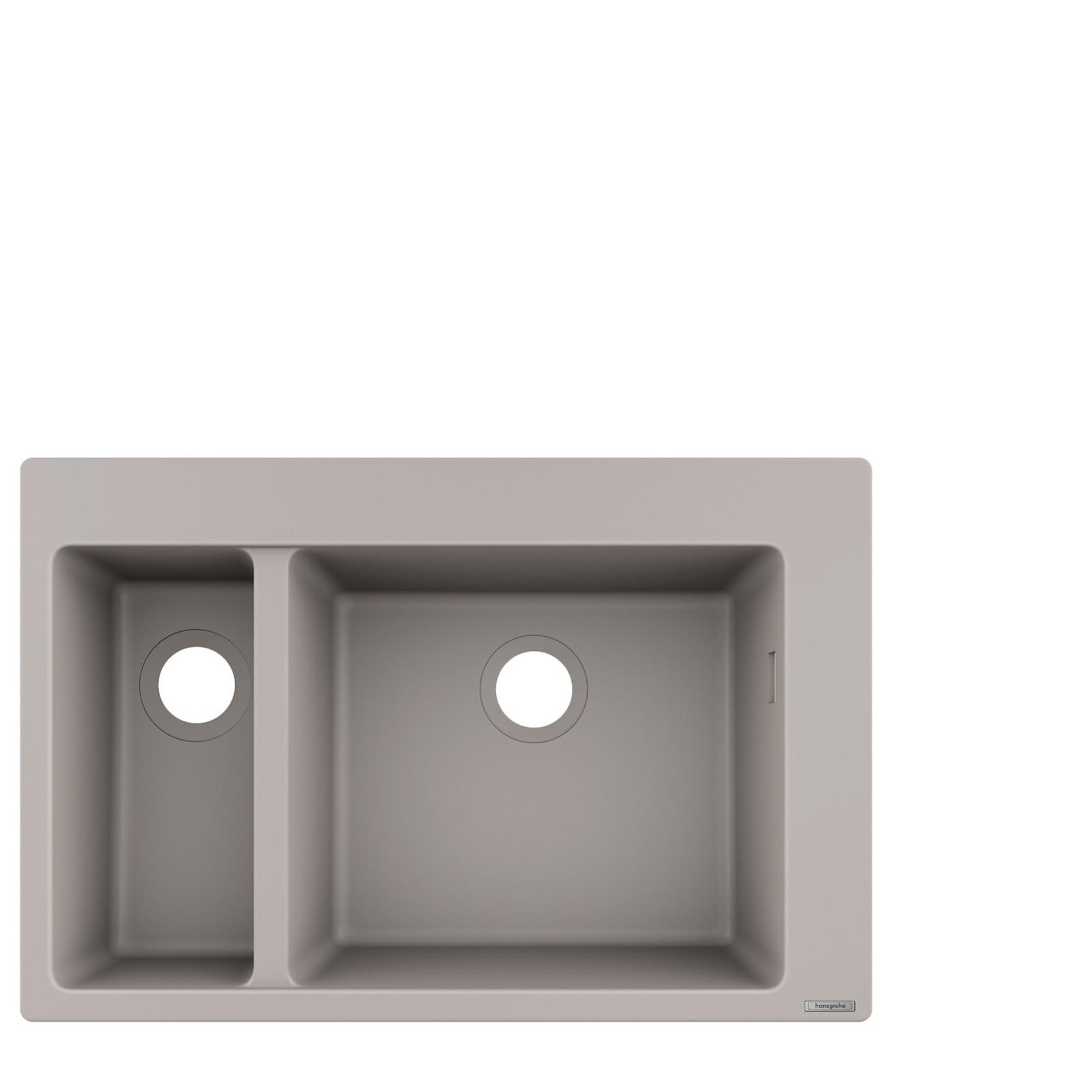HG Einbauspüle 180x450