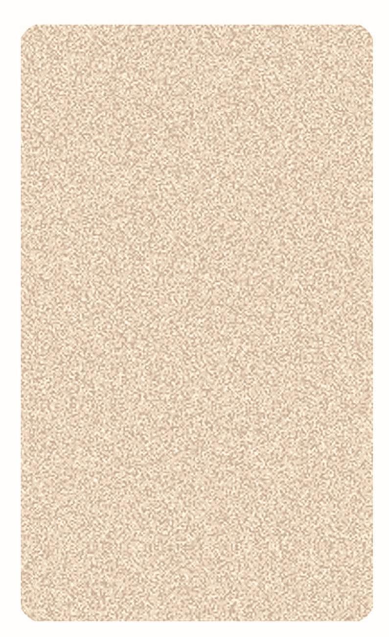 Badteppich Seattle 100 % Polyester Natur 55x 65 cm