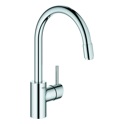 GROHE EH-SPT-Batterie Concetto 32663_3 h. Ausl. azb. L-Brause GROHE Zero chrom