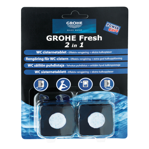 GROHE WC-Dufttabs GROHE Fresh 38882 2 x 50 g