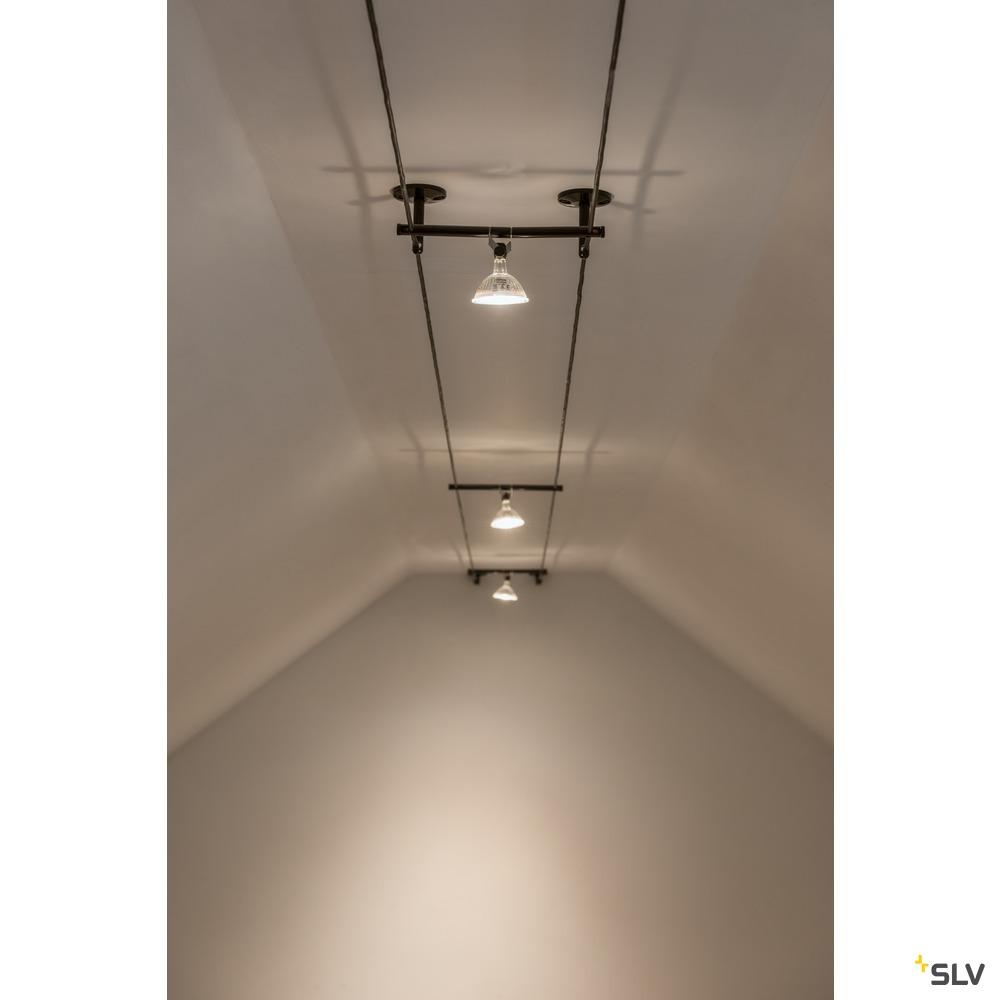 UMLENKER, für TENSEO Niedervolt-Seilsystem, lang, weiß, 2 Stück