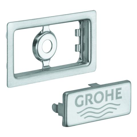 GROHE Abdeckelement 42579 für Küchenspüle edelstahl
