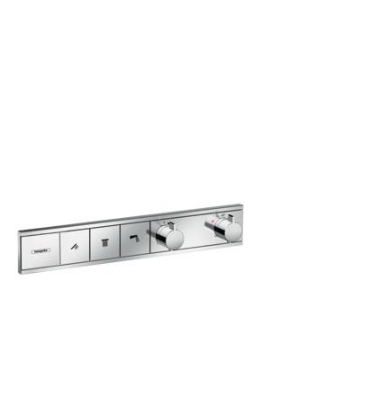 HG Thermostat Unterputz RainSelect Fertigset 3 Verbraucher chrom