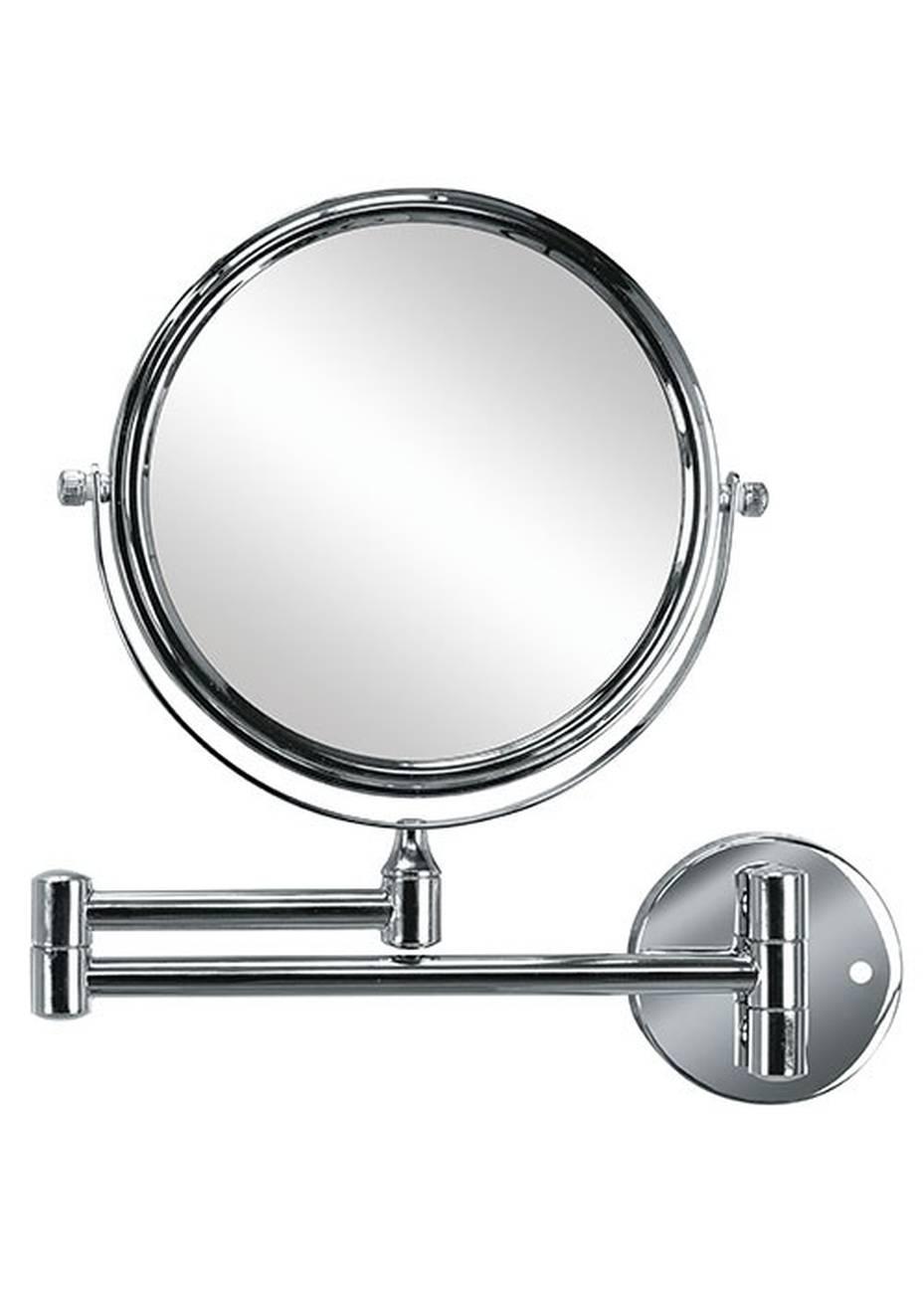 Kosmetikspiegel Ridge Mirror Metall chromiert/Glas Silber Spiegel