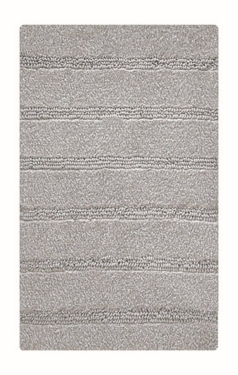 Badteppich Monrovia 100 % Polyester Platin 60x100 cm