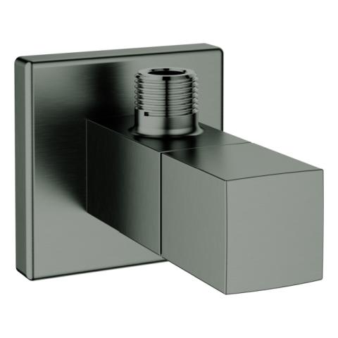 GROHE Eckventil Eurocube 22012 DN15 Abgang 3/8'' hard graphite gebürstet