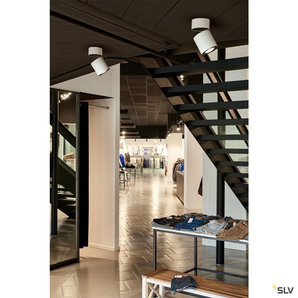 SUPROS CL, Indoor LED Deckenaufbauleuchte, rund, weiß, 4000K, 60° Reflektor, CRI90, 3520lm weiß