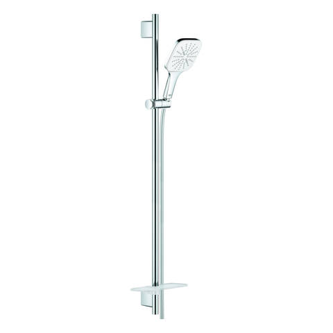 GROHE Brausest.-Set RSH 130 SmartActive Cube 26586 900mm Ablage moon white/chrom