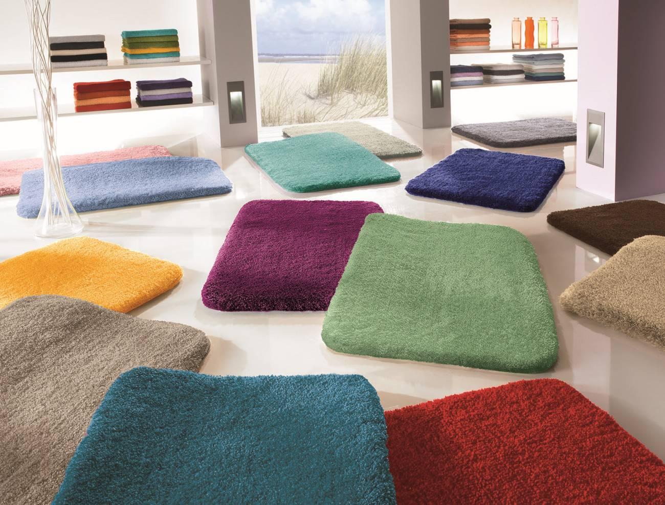 Badteppich Relax 100 % Polyacryl Pastellrose 55x 65 cm