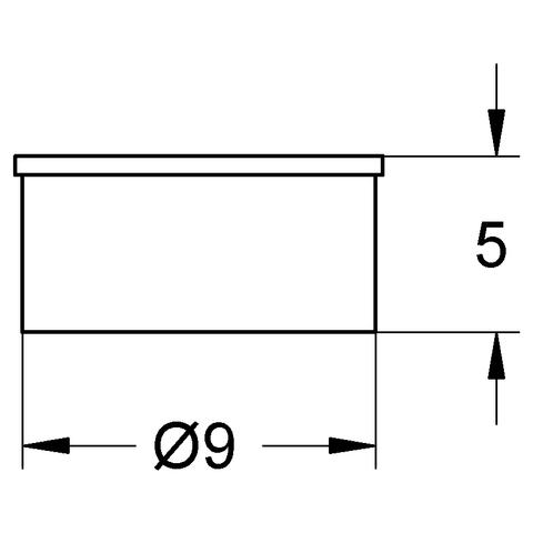 GROHE Durchflusskonstanthalter 07008 8 l/min bei 0,8 - 10 bar 5 Stück chrom