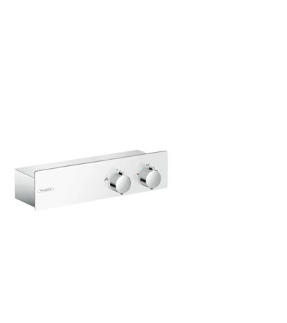 HG Thermostat ShowerTablet 350 Brause Aufputz DN15 weiss/chrom