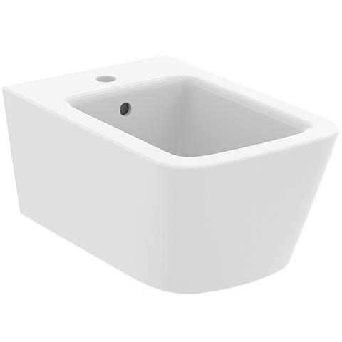IS Wand-Bidet Blend Cube 1 Hl.360x540x250mm Seidenweiß