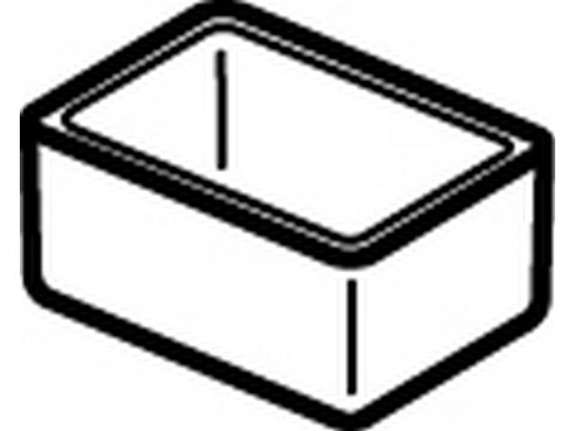 IS Aufbewahrungsbox Connect Space 157x112x72mm hellgrau