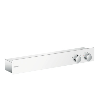 HG Thermostat Universal ShowerTablet 600 2 Verbraucher DN15 weiss/chrom