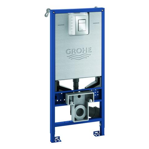 GROHE 3-in-1 Set Rapid SLX 39603 für WC m. Skate C Betätigung S chrom/Wandwinkel