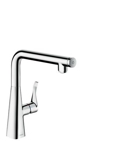 Hansgrohe Metris Select M71 Einhebel Küchenmischer260