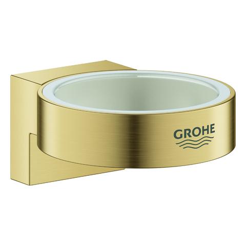 GROHE Halter Selection 41027 für Glas/Seifenspender cool sunrise geb.
