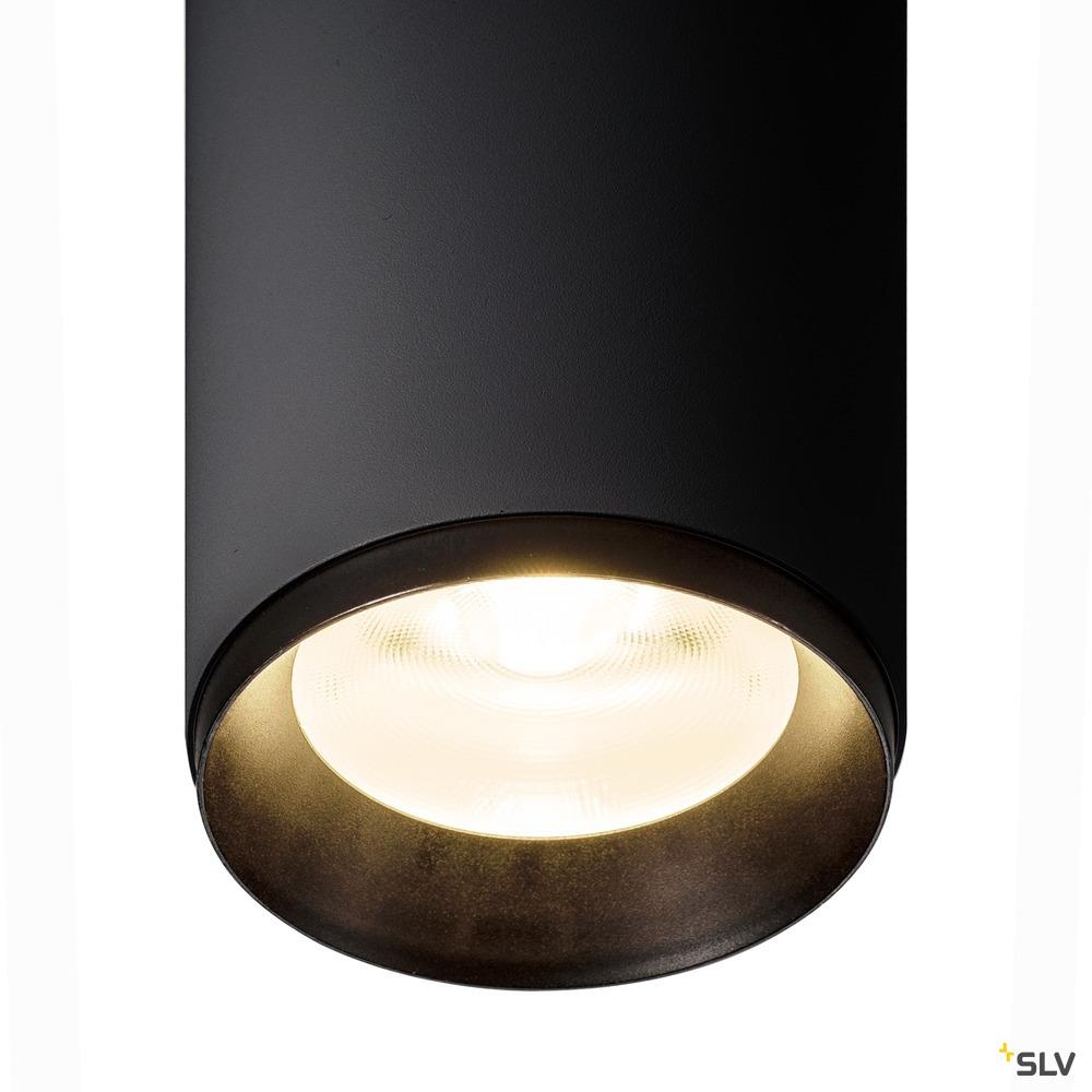 NUMINOS® PD PHASE L, Indoor LED Pendelleuchte schwarz/schwarz 4000K 36°