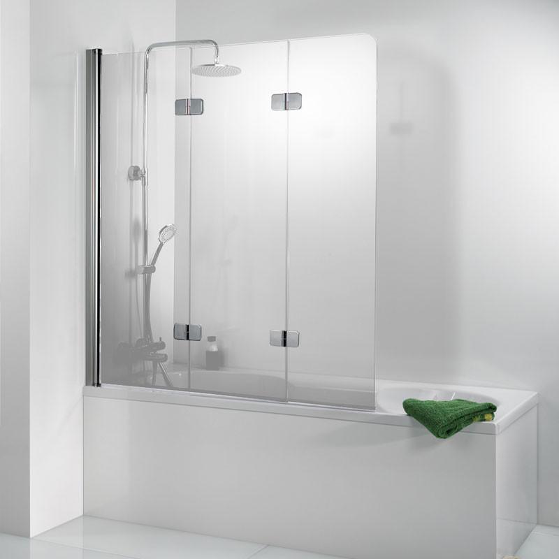 HSK Premium Softcube Badewannenaufsatz, 3-teilig