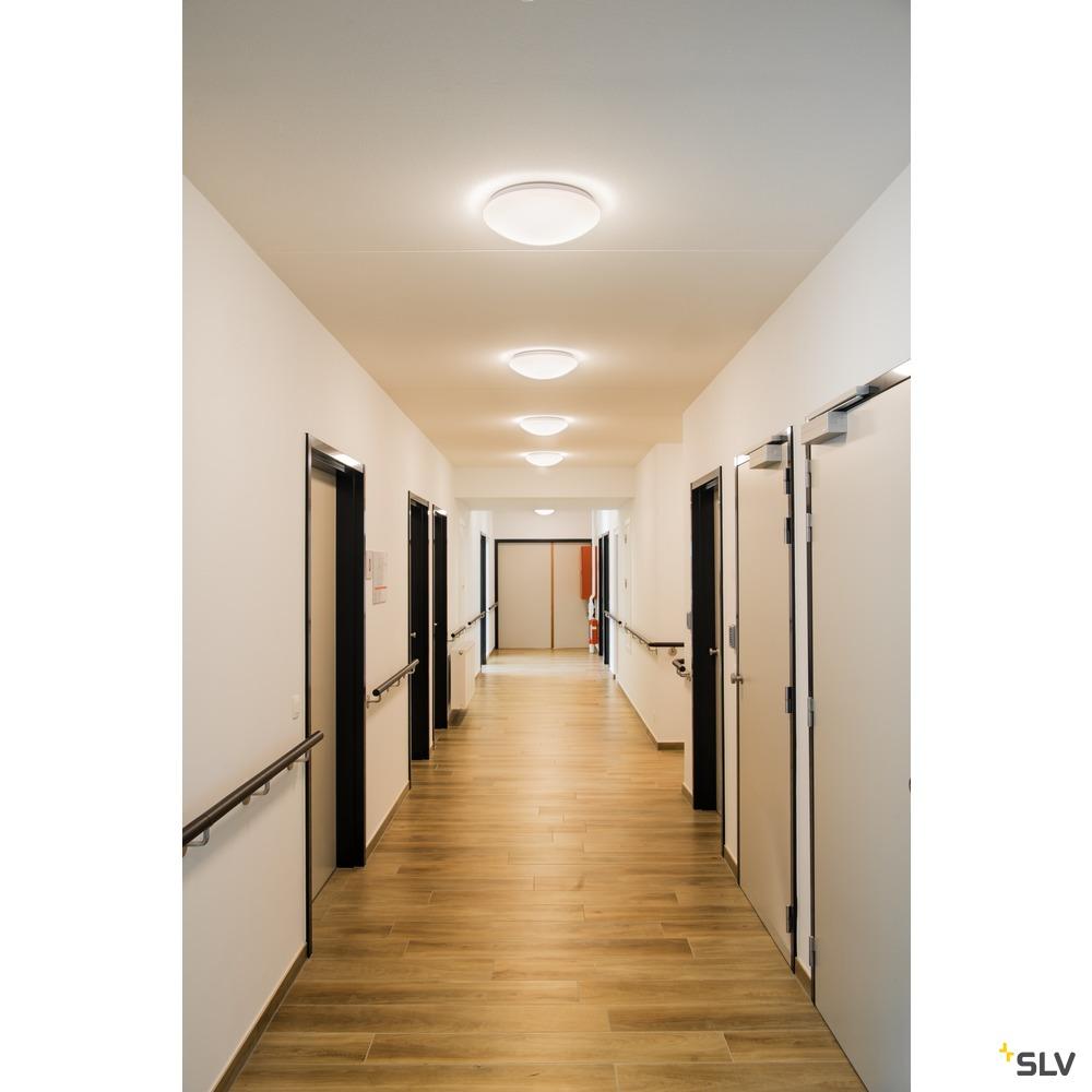 LIPSY 40 Dome, LED Outdoor Wand- und Deckenaufbauleuchte, weiß, IP44, 3000/4000K