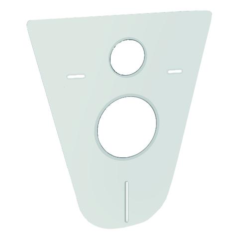 GROHE Schallschutz-Set 37131 für WC mit Schallschutzmatte und Gummihülsen