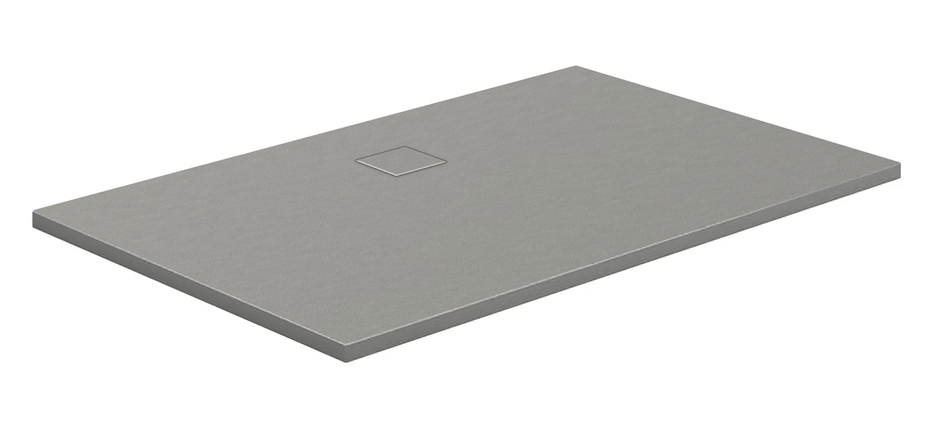 HSK Marmor-Polymer-Duschwannen, Steinoptik - Rechteck 80x120 Sandstein mit AntiSlip-Beschichtigung