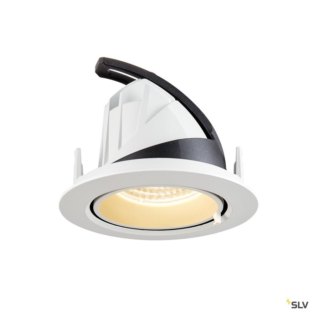 GIMBLE IN 100, Indoor LED Deckeneinbauleuchte, weiß, 3000K