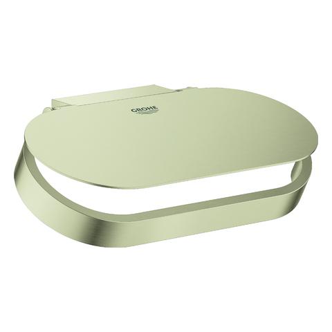 GROHE WC-Papierhalter Selection 41069 mit Deckel nickel gebürstet