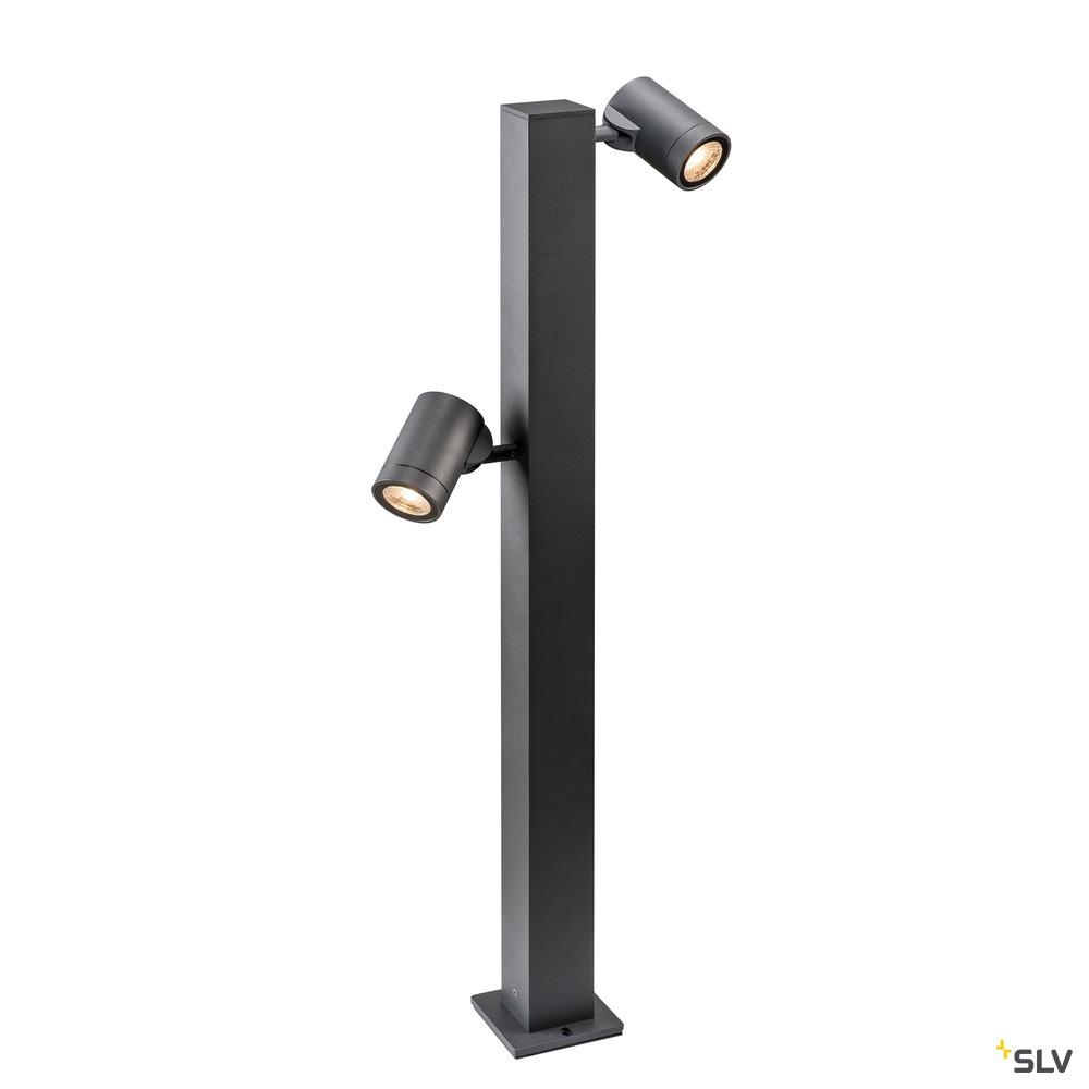 HELIA Double Pole, LED Outdoor Stehleuchte, anthrazit IP55 3000K