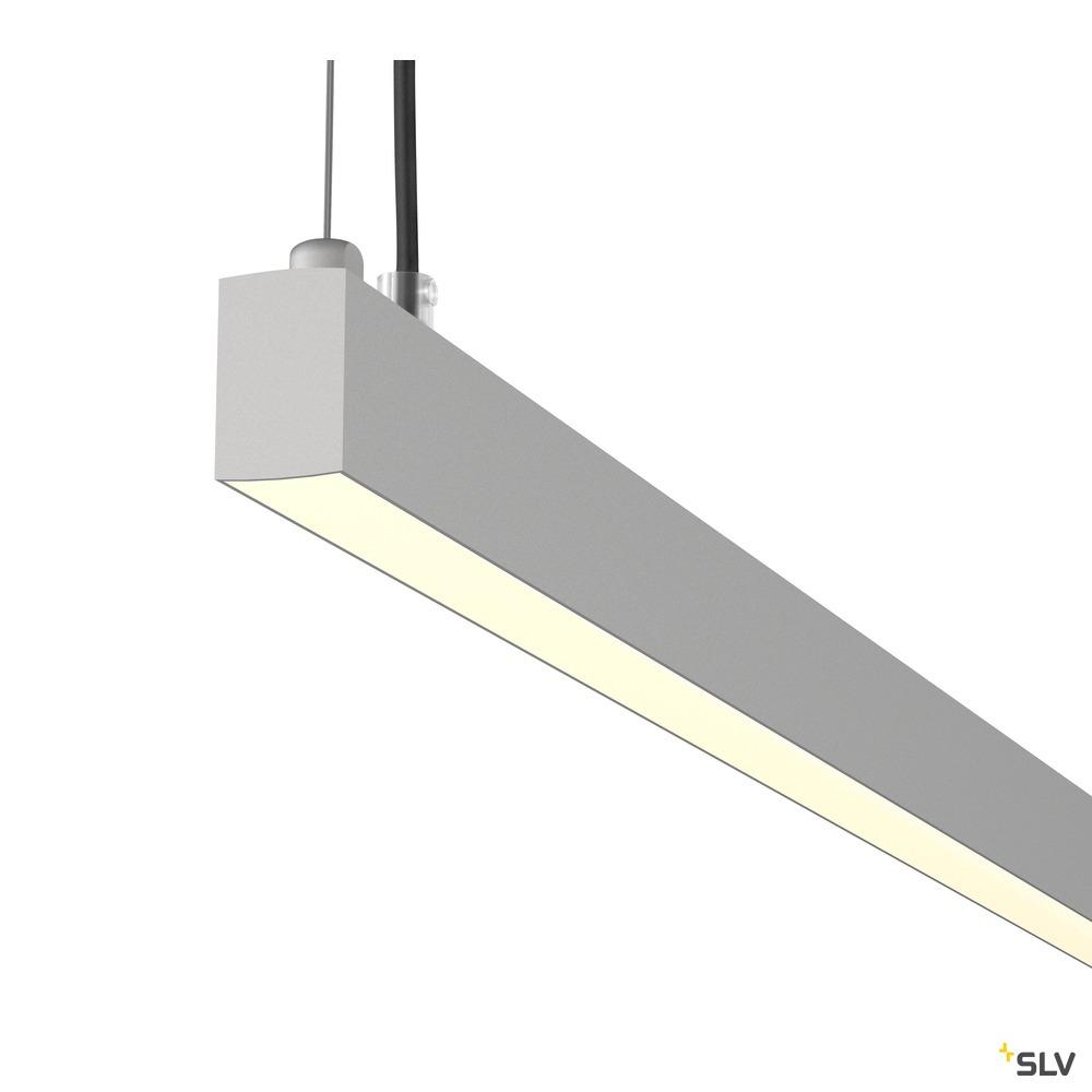 AROSA, 2m, TRIAC PD, LED Indoor Pendelleuchte, alu, 3000K