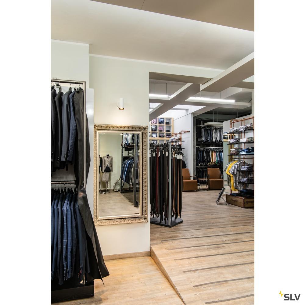 NUMINOS® SPOT DALI S, Indoor LED Deckenaufbauleuchte weiß/schwarz 4000K 60° weiß