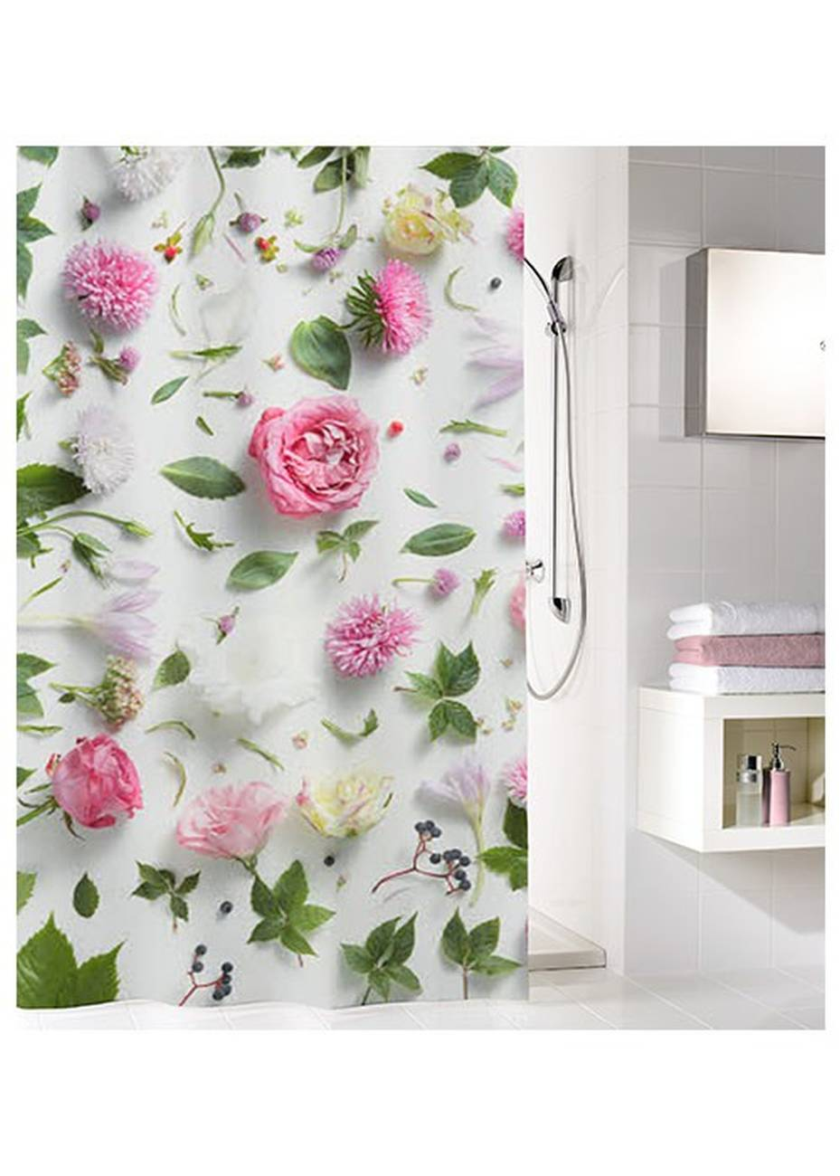 Duschvorhang Rosalie 100 % Polyester Multicolor 240x180 cm