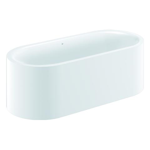 GROHE Badewanne Essence 39726 freisteh. EasyClean AntiSlip mit Überl. alpinweiß