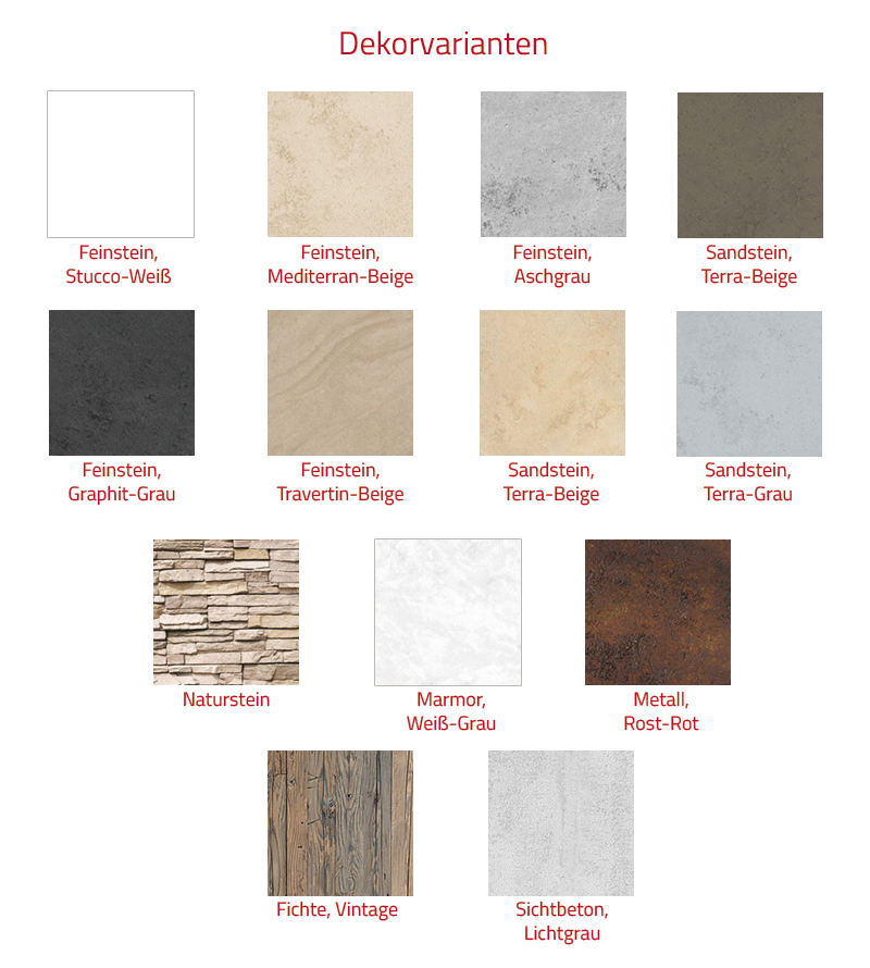 HSK RenoDeco Wandverkleidungssystem 100x255 Marmor, Weiß-Grau - Struktur